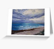 Rainclouds over Cottesloe Greeting Card