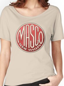 Vintage Masco Logo Women's Relaxed Fit T-Shirt