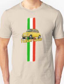 Fiat 500 Italian Lover T-Shirt