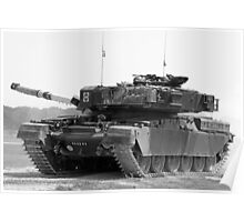 Chieftain Tank  Poster