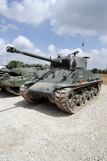 WW2 Sherman Tank by Chris L Smith