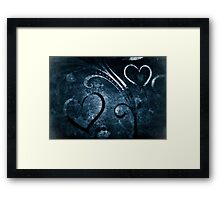 Hearts Framed Print