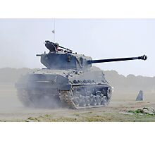 WW2 Sherman Tank Photographic Print