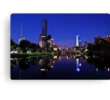 Calm In The City Canvas Print