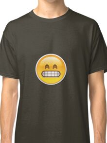Frustrated Emoji Classic T-Shirt