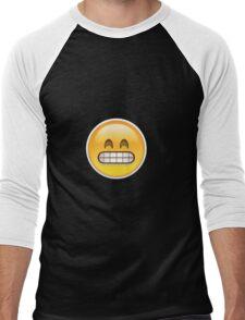 Frustrated Emoji Men's Baseball ¾ T-Shirt