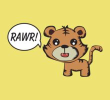 RAWR! Tiger by Sean Cuddy