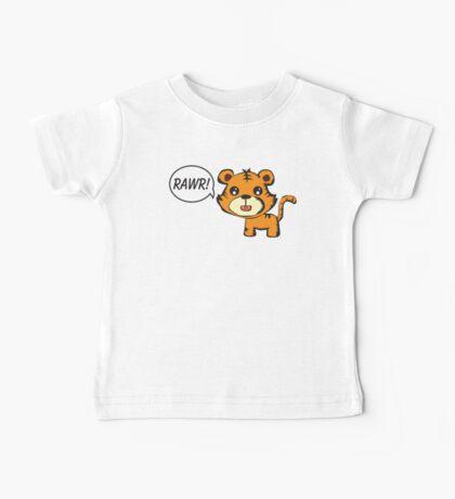 RAWR! Tiger Baby Tee