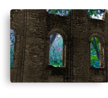 Forest Wall Canvas Print
