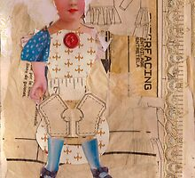 Anatomy of a doll 4 by Thelma Van Rensburg