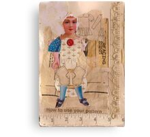 Anatomy of a doll 4 Canvas Print