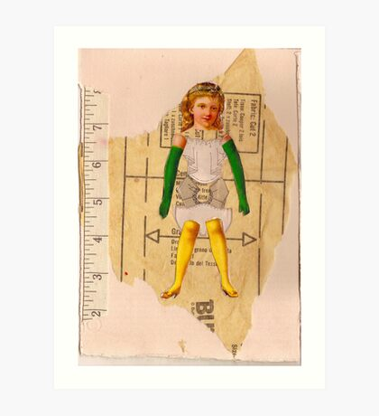 Anatomy of a doll 7 Art Print