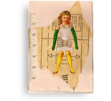 Anatomy of a doll 7 Canvas Print