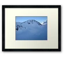 Mini Avalanche  Framed Print