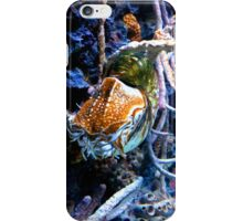 Nautilus at the Reef iPhone Case/Skin