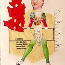 Anatomy of a doll 12 by Thelma Van Rensburg