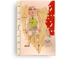 Anatomy of a doll 14 Canvas Print