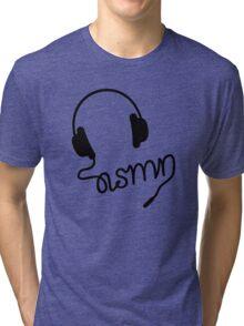 ASMR Headphones Tri-blend T-Shirt