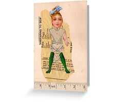 Anatomy of a doll 5 Greeting Card