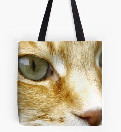 Macro Cat! Tote Bag