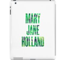Mary Jane Holland iPad Case/Skin
