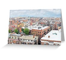 City Roof Tops Greeting Card