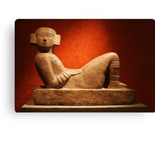 Chac Mool at the Anthropological Museum in Mexico City Canvas Print
