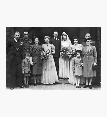 Dorothy And George Wedding Photographic Print