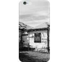Route 66 Keep Out iPhone Case/Skin