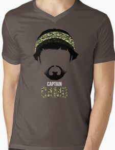 Captain Camo Mens V-Neck T-Shirt