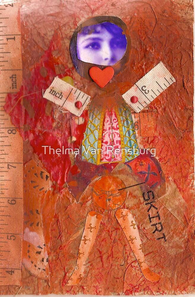 skirt, 2010 by Thelma Van Rensburg