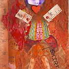 anatomy of a doll, 2010 by Thelma Van Rensburg