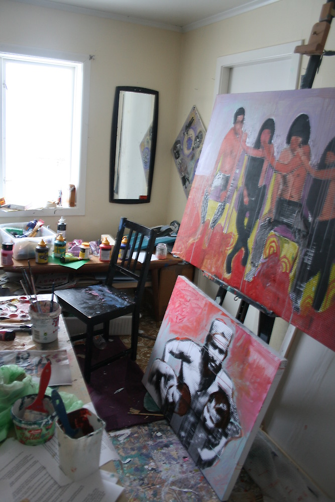 """"""" my work space"""" by Cecilie Hole"""