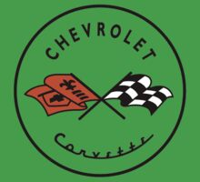 Chevrolet Corvette One Piece - Short Sleeve