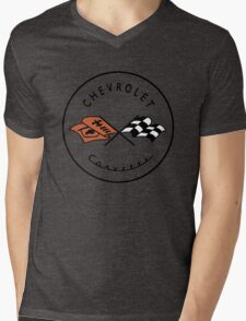 Chevrolet Corvette Mens V-Neck T-Shirt