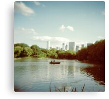 Central Park NYC - Holga Canvas Print