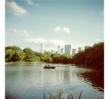 Central Park NYC - Holga Photographic Print