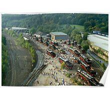 DB 150th anniversary Exhibition, Bochum, 1985. Poster