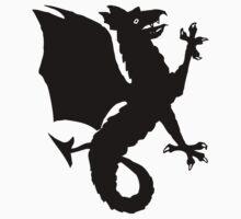 Heraldic dragon by Smaragdas