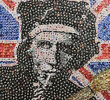 The Keith - Bottle Cap Mosaic by JAMbottlecapart