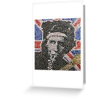 The Keith - Bottle Cap Mosaic Greeting Card