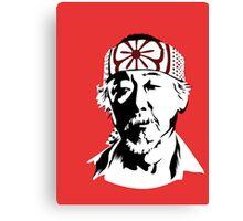 Mr Miyagi Canvas Print
