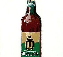 Beer Bottle (Ceci ne pas un Warhol) by Franko Camue
