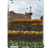 Tamworth Castle and garden,Staffordshire,England iPad Case/Skin