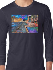 Tracking Through the Neighborhood Long Sleeve T-Shirt