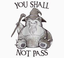 You Shall Not Pass Kids Tee