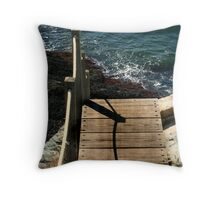 Walking the Plank Throw Pillow