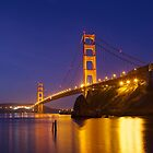 Golden Gate at Sunrise by zen107