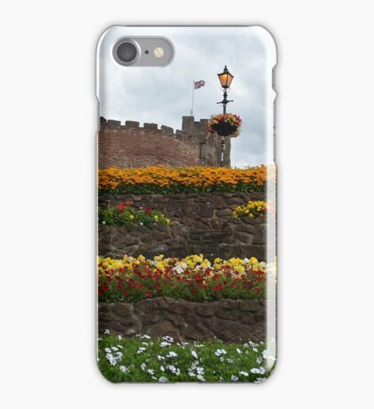 Tamworth Castle and garden,Staffordshire,England iPhone Case/Skin