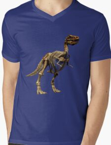 Dinosaur skeleton  Mens V-Neck T-Shirt